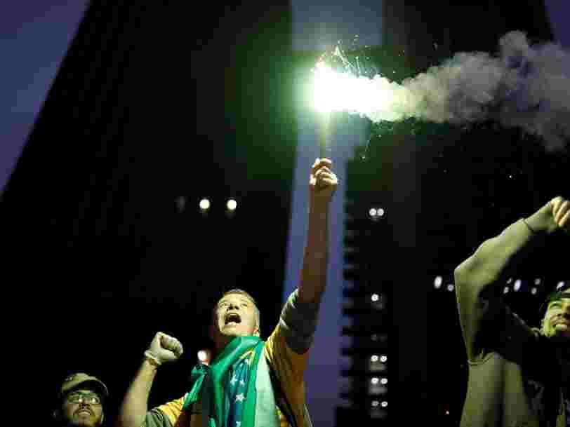 La Bourse de Sao Paulo atteint un sommet historique après l'élection de Jair Bolsonaro à la tête du Brésil