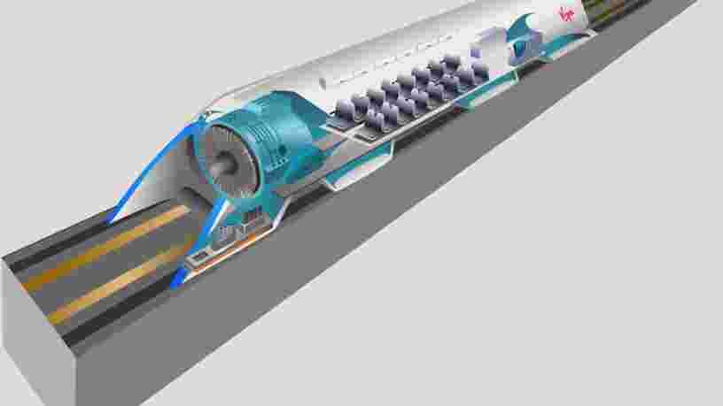 Hyperloop : le train à grande vitesse commencera des essais avec passagers dès 2020