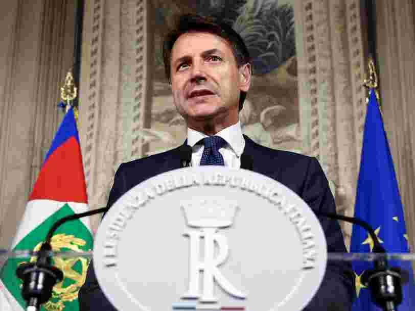 L'Italie a un nouveau gouvernement — c'est la fin de 3 mois d'impasse politique
