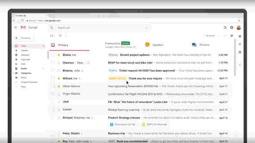Google aurait permis à des développeurs d'applis tiers de lire les emails des utilisateurs de Gmail