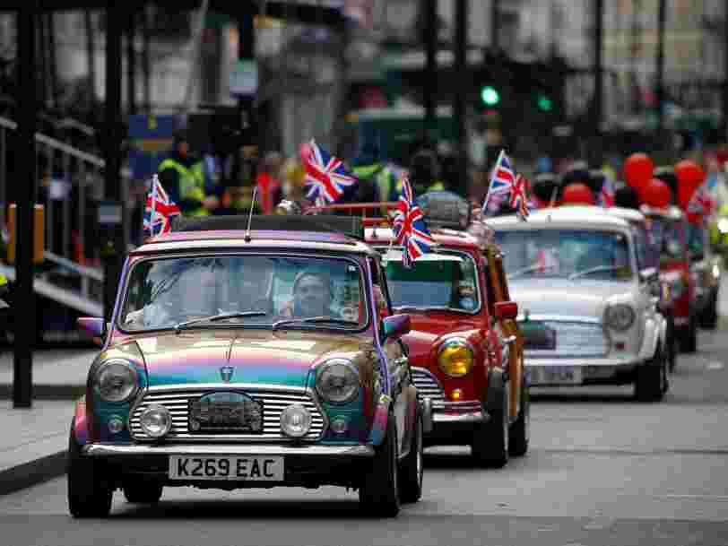 Le marché automobile britannique est bouleversé par le Brexit — mais les ventes pourraient soudainement rebondir en ce début d'année