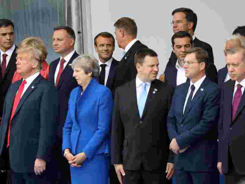 Trump accuse l'Allemagne de ne pas mettre assez la main à la poche pour la défense — voici les dépenses militaires de chacun des 29 pays membres de l'Otan