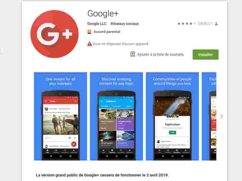 Google a fermé les comptes Google+ de Sergey Brin et Larry Page... et les 6 autres choses à savoir dans la tech ce matin