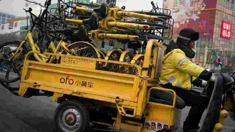Ofo ferme sa division internationale et c'est un signe que la ruée des plateformes de vélos partagés vers de nouveaux marchés est terminée