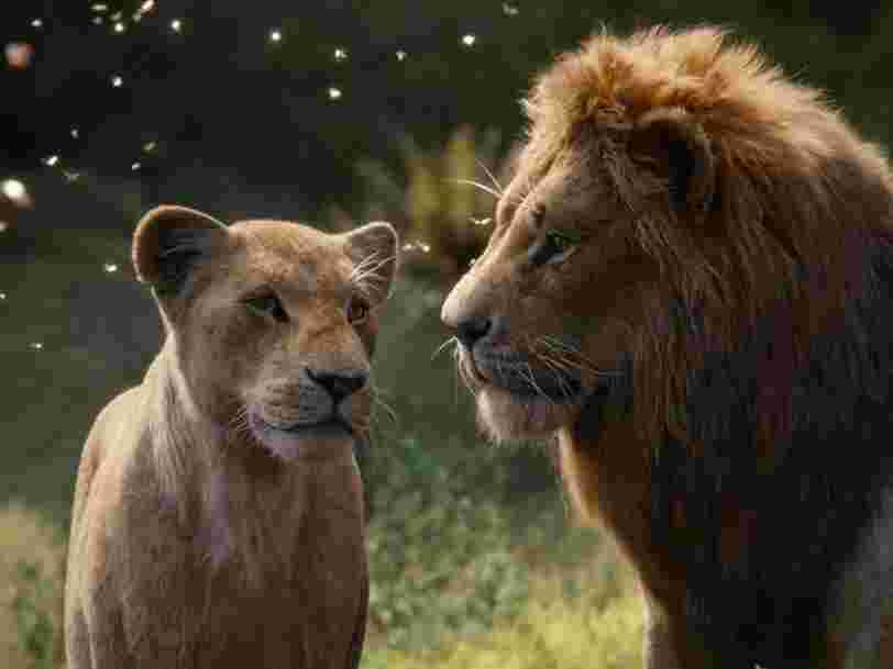 'Le Roi Lion' signe un démarrage record au box office américain et fait mieux que 'Harry Potter'