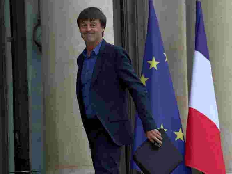 Le ministre de la transition écologique Nicolas Hulot a présenté son plan climat — voici ce qu'il a annoncé