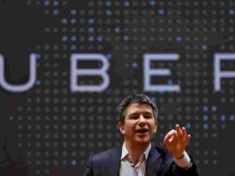 Travis Kalanick démissionne de son poste de DG d'Uber