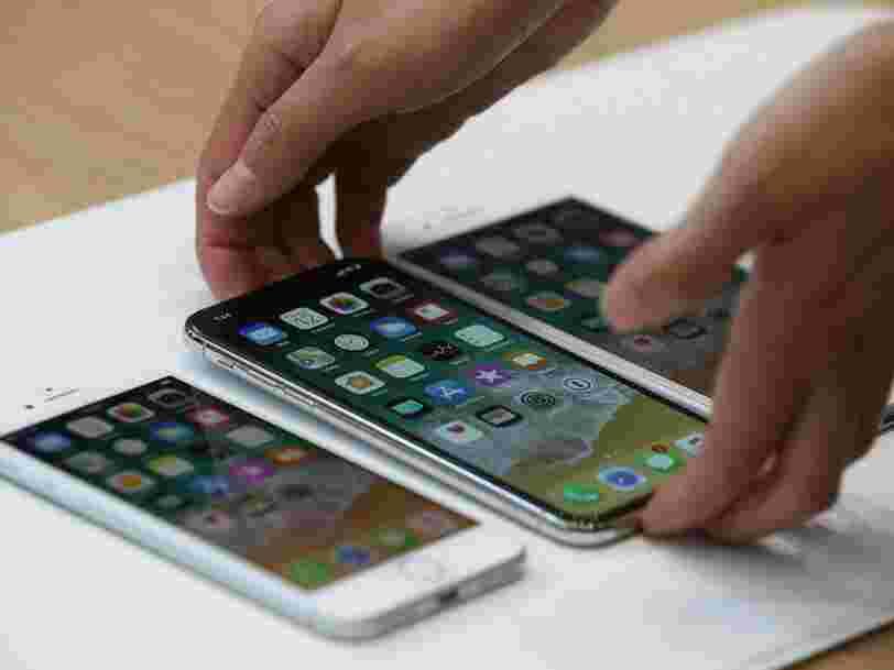 Un fournisseur Apple a été accusé d'utiliser illégalement des étudiants stagiaires pour assembler l'iPhone X