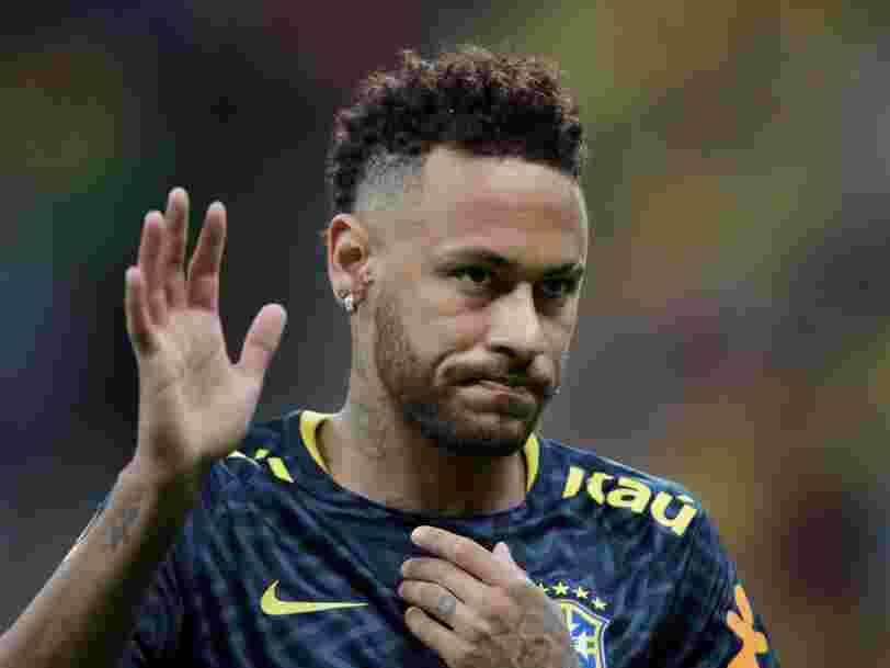 Mastercard annule une campagne publicitaire avec Neymar suite à l'accusation de viol
