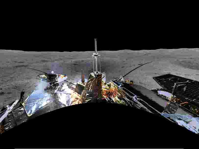 La Chine a dévoilé la première photo panoramique de la face cachée de la Lune — regardez