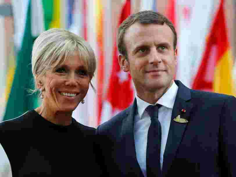 Emmanuel Macron crée un rôle unique pour sa femme mais il n'y a toujours pas de statut de Première Dame en France