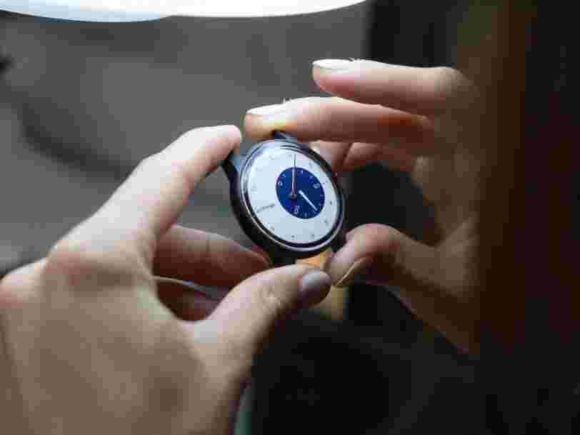 Comment Withings vous permet d'avoir une montre connectée personnalisée en trois jours