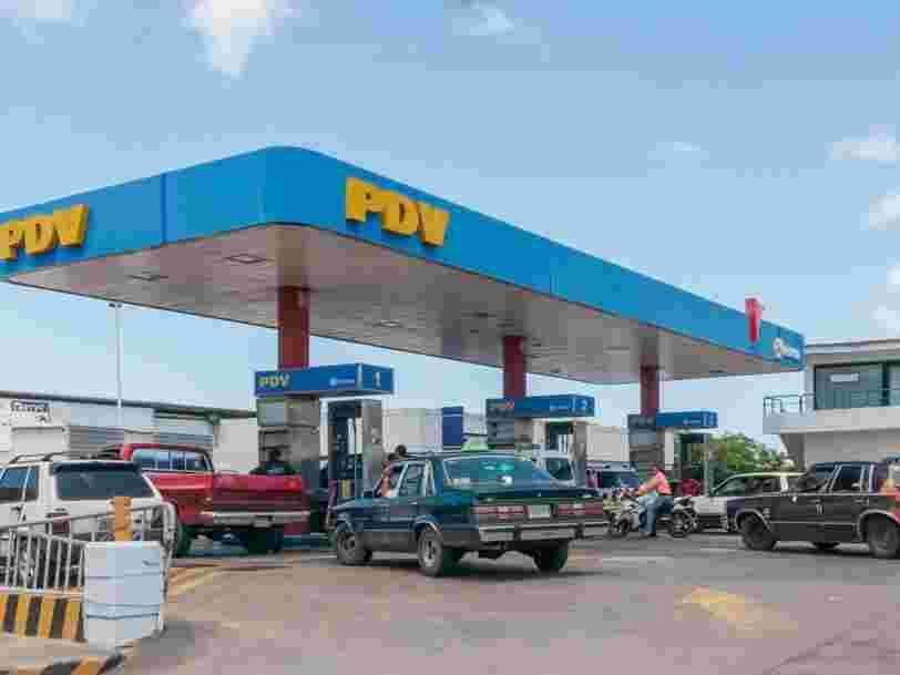 Au Venezuela, 1 million de litres d'essence coûte autant qu'une boîte de thon