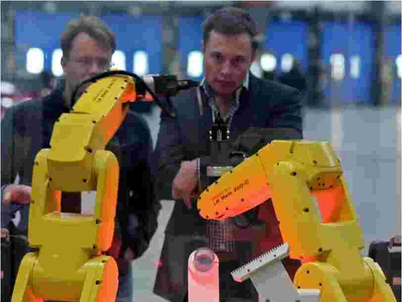 Les nouveaux robots de la Gigafactory de Tesla censés accélérer la production des Model 3 ne fonctionnent pas encore