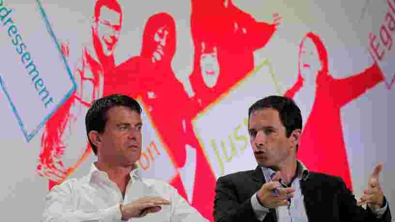6 sujets à surveiller pendant le débat entre Benoît Hamon et Manuel Valls ce soir