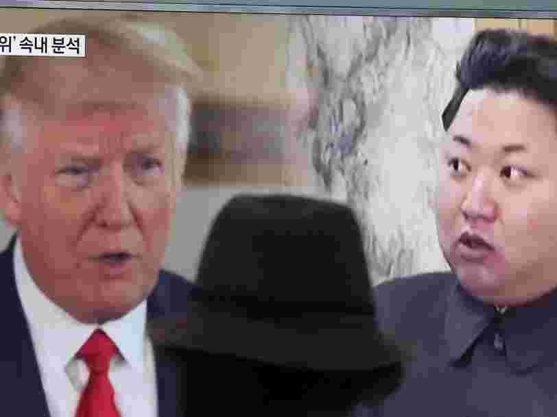 Twitter dit que les provocations de Trump envers la Corée du Nord sur le 'bouton nucléaire' ne dérogent pas à ses conditions d'utilisation