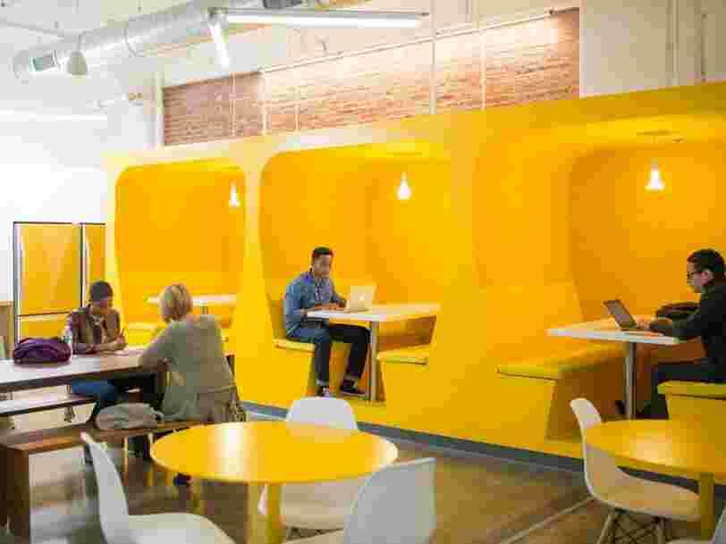 12 bureaux géniaux révèlent à quoi ressemblera l'espace de travail demain