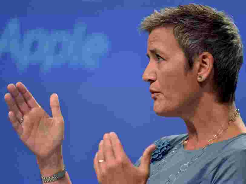 Le régulateur européen qui a épinglé Apple ne s'intéresse pas aux impôts de Google