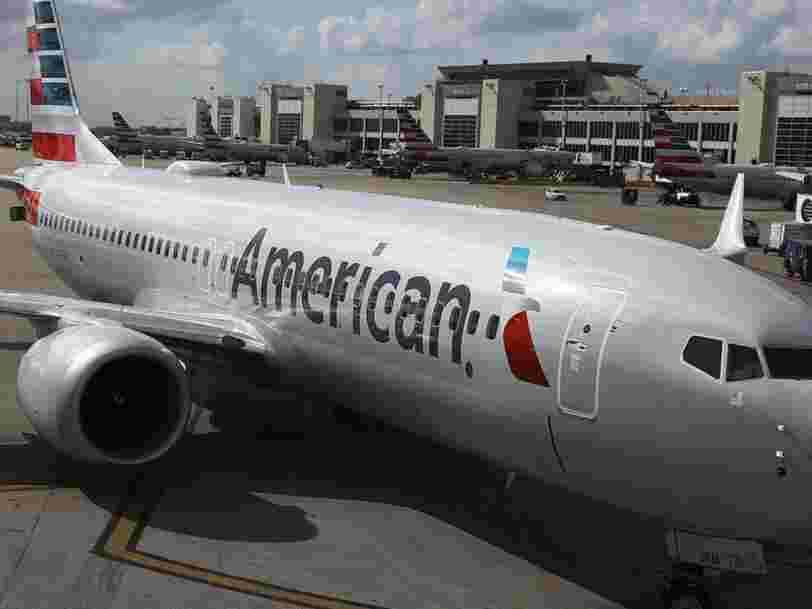 737 Max : American Airlines obligé de suspendre une ligne à cause de l'immobilisation des avions