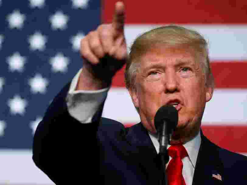 Donald Trump affirme sans le prouver que Google, Twitter et Facebook étouffent l'affaire des emails d'Hillary Clinton