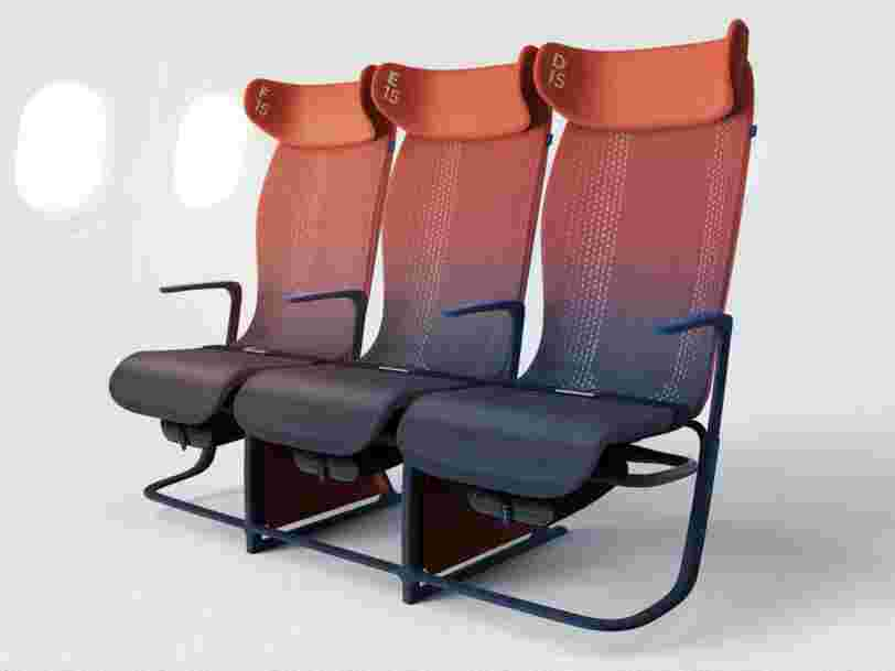 Ce prototype futuriste de fauteuil d'Airbus pourrait enfin rendre la classe éco un peu plus confortable