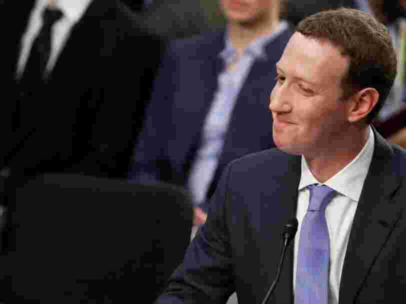 Mark Zuckerberg dit que Facebook collecte des données de non-utilisateurs pour des raisons de 'sécurité' — voici toute l'histoire