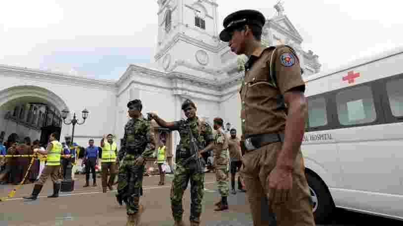 Des attentats coordonnés au Sri Lanka dans des églises et hôtels font plus de 200 morts