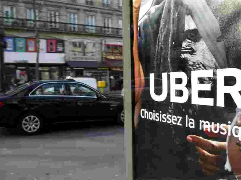 Uber a doublé ses courses sur un an à 1,75 Md$ malgré les scandales successifs