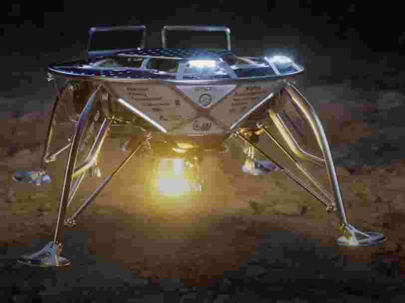 SpaceX envoie la première mission privée vers la surface lunaire... et les 7 autres choses à savoir dans la tech ce matin