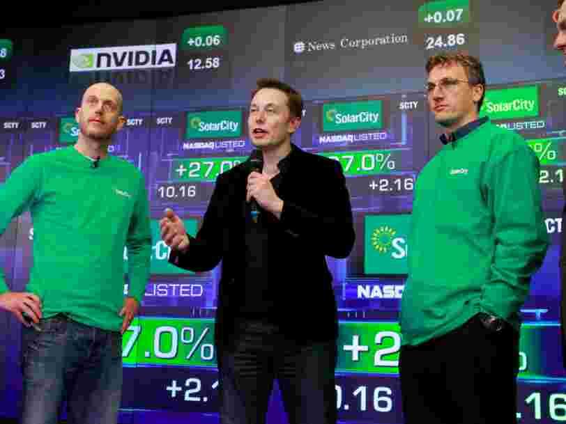 Le cofondateur de SolarCity Peter Rive quitte Tesla quelques mois après son acquisition pour 2,6 Mds$