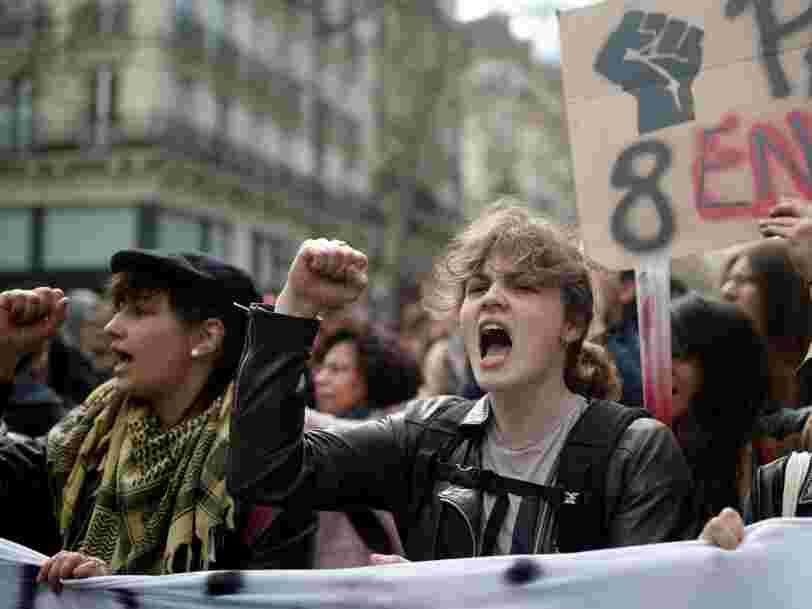 La police a délogé les étudiants qui occupaient la Sorbonne dans la nuit