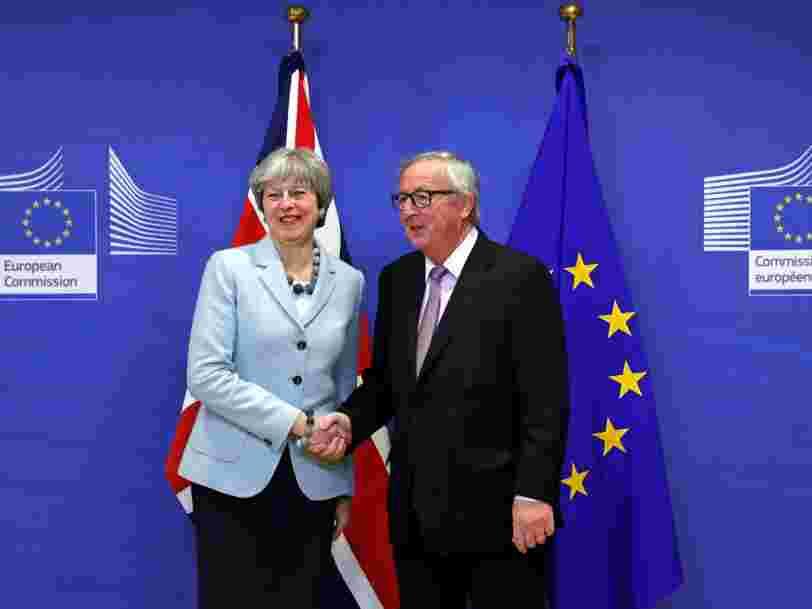 Le Royaume-Uni et l'Union européenne ont trouvé un accord de principe sur le Brexit — ce sera entre 40 et 45Mds€