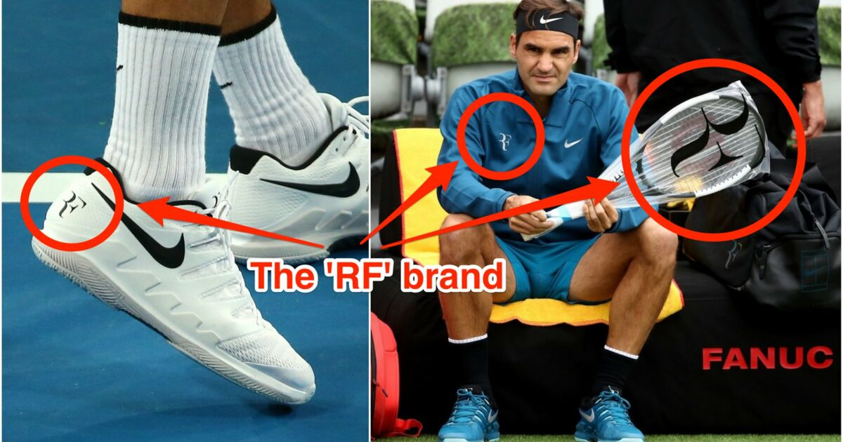 Roger Federer a perdu son logo iconique 'RF' après que son