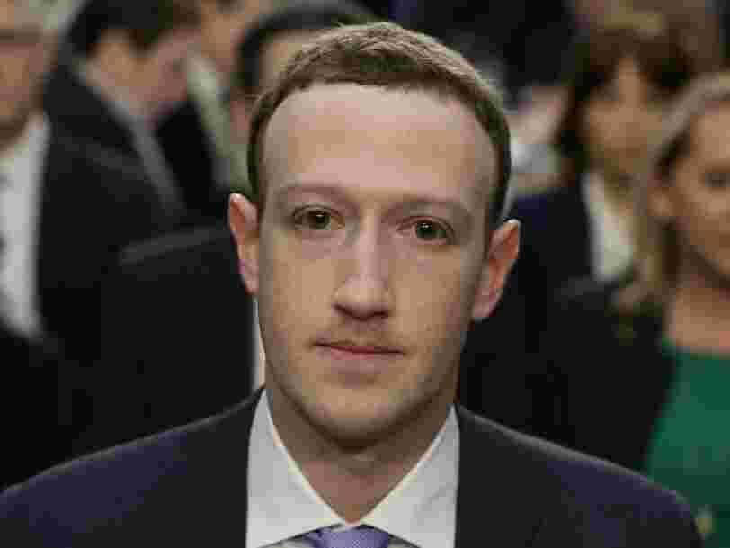 Le patron de Facebook Mark Zuckerberg aurait appelé Trump pour le féliciter après son élection en 2016