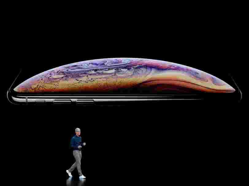 iPhone XS, iPhone XR, Apple Watch: Voici tout ce qu'Apple vient d'annoncer
