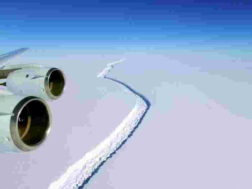 Une faille en Antarctique est sur le point de créer un iceberg géant de la taille de la Creuse