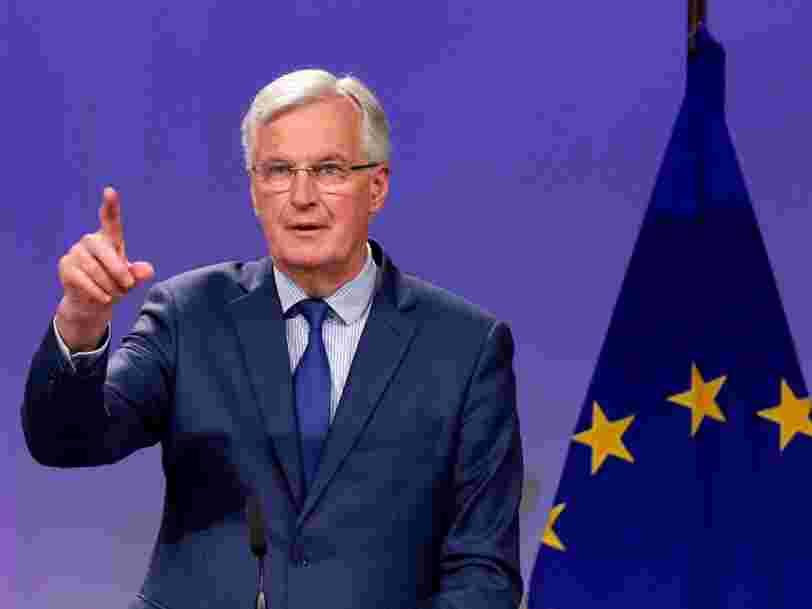'En quittant le marché unique, ils perdent le passeport financier': Michel Barnier exclut un accord commercial sur le Brexit pour la City