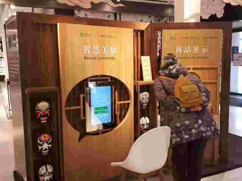 L'appli chinoise WeChat s'affiche au rez-de-chaussée du BHV — mais elle ne sera pas de sitôt dans votre portable