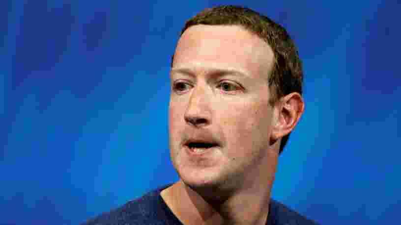 Facebook perd 148 Mds$ en Bourse après que Mark Zuckerberg alerte sur un ralentissement de la croissance