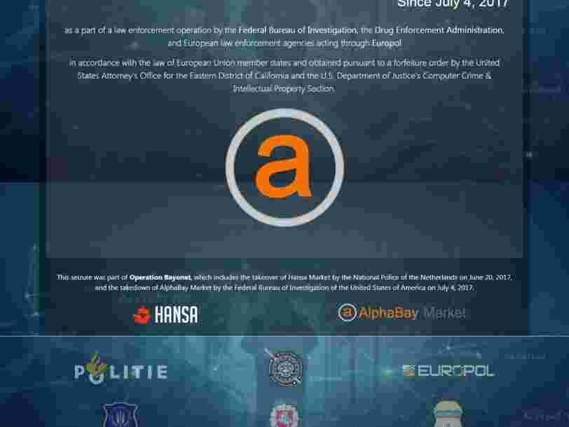 Voici la folle histoire de la fermeture du plus gros site de trafic de drogue sur le dark web par le FBI