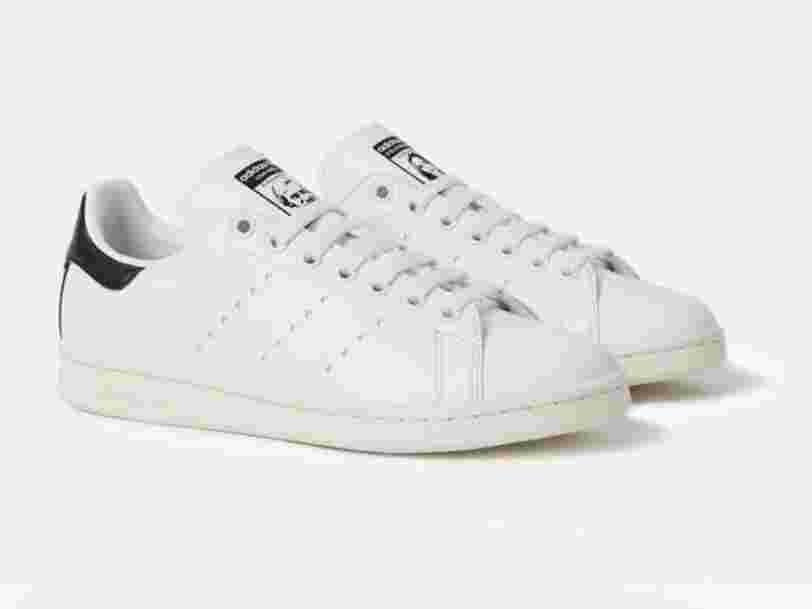 Adidas lance sa première paire de Stan Smith vegan grâce à Stella McCartney — mais il va falloir y mettre le prix pour l'acheter