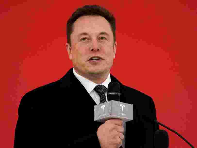 Tesla promet des courses moins chères qu'Uber avec ses taxis autonomes