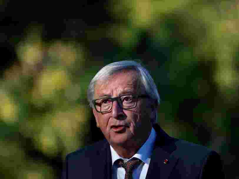 Jean-Claude Juncker 'ne comprend pas' pourquoi son pays n'embrasse pas la position de Macron pour taxer plus les GAFA