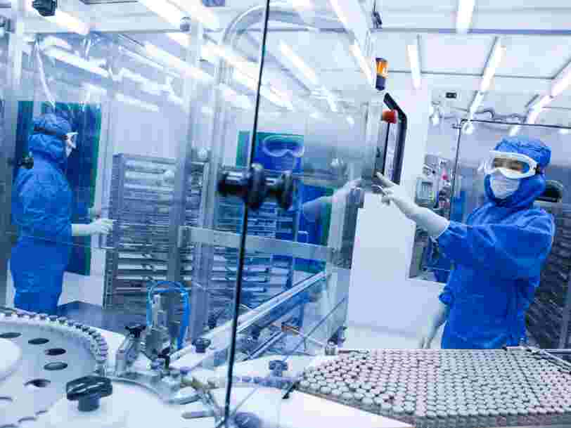 Le laboratoire français Sanofi serait en discussions pour racheter Actelion après le retrait de Johnson & Johnson