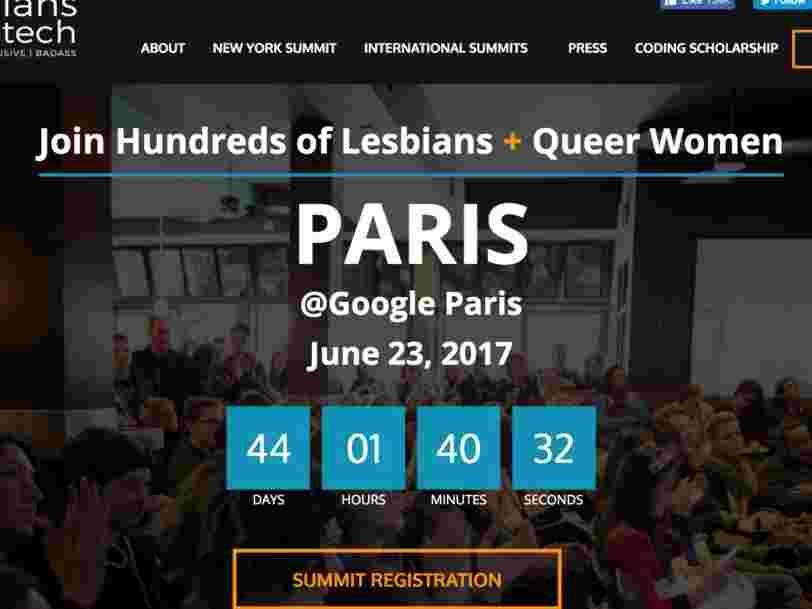 Google France accueillera le tout premier sommet 'Lesbians who tech' à Paris