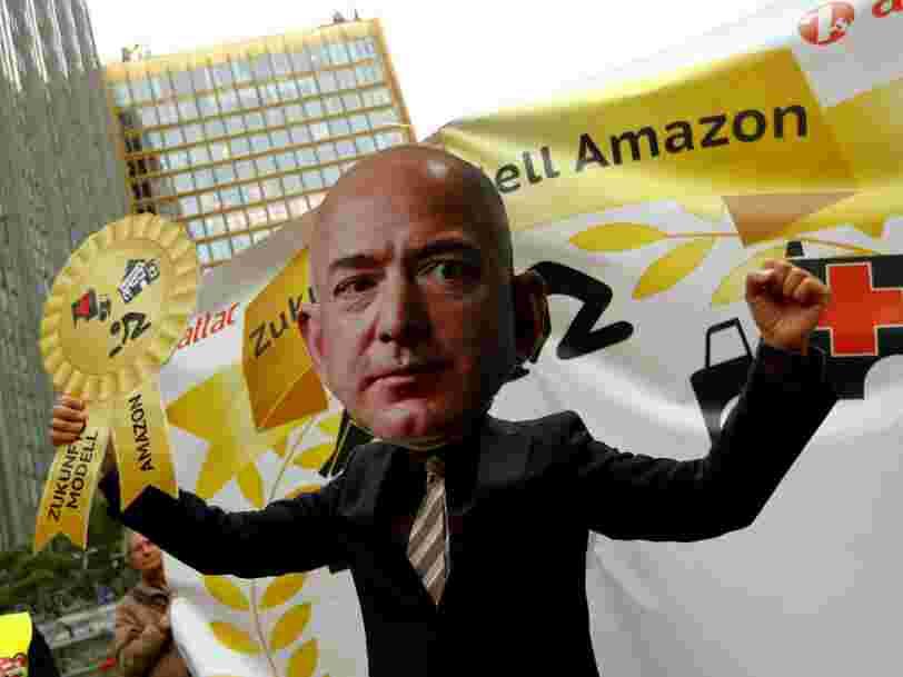 Une enquête menée auprès de 256 employés d'Amazon à Montélimar dit que beaucoup ne dorment plus, ont interdiction de parler ou sont contrôlés pendant leurs pauses
