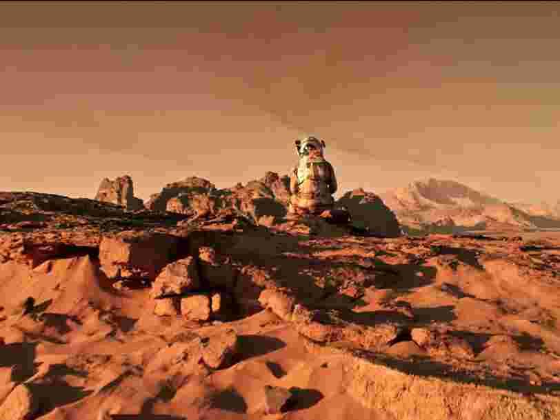 Des scientifiques ont peut-être trouvé un moyen de bâtir des maisons sur Mars complètement par hasard