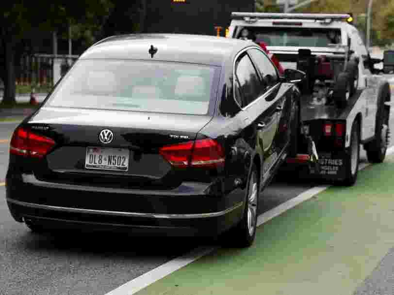 La France pourrait infliger à Volkswagen une amende de 19,7Mds€ pour le trucage de ses émissions polluantes