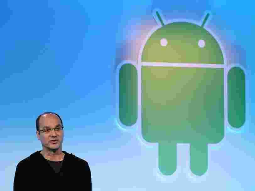 Le fondateur d'Android monte une nouvelle startup qui crée du matériel informatique haut de gamme