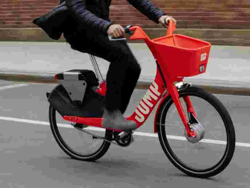 Uber propose désormais de louer des vélos électriques à San Francisco directement dans l'appli